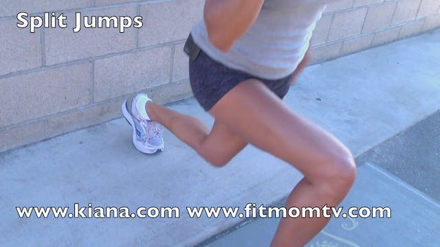 Exercise Split Jumps