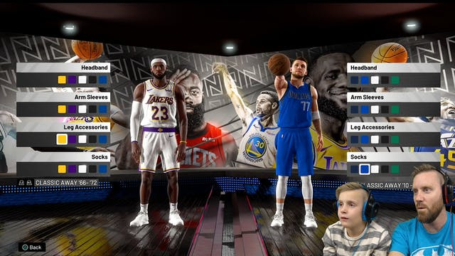 DAD vs SON in NBA 2k20!