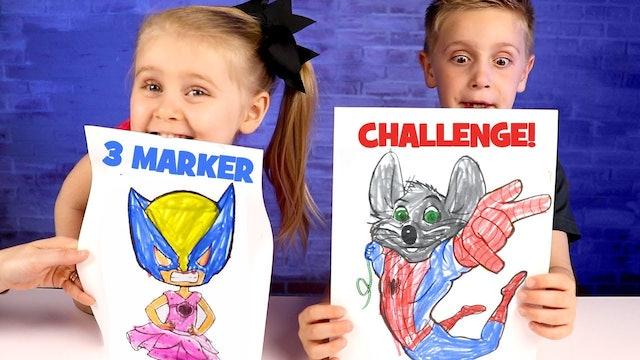 3 Marker Challenge Part 1!