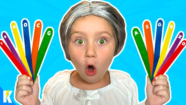 GRANNY is GASSY! (COLORS Escape Room!)