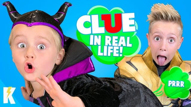 CLUE in REAL LIFE! (Who TOOTED?)