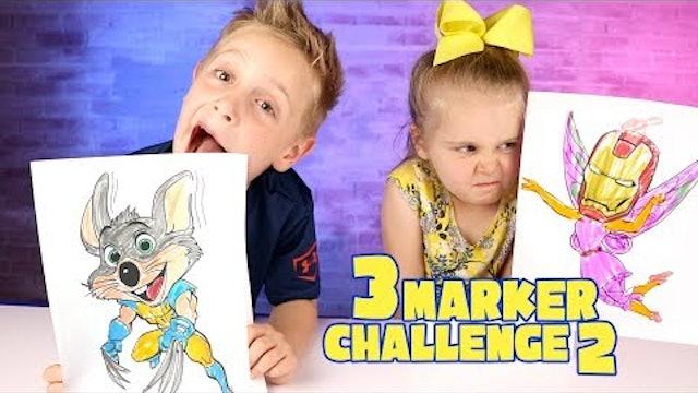 3 Marker Challenge Part 2!