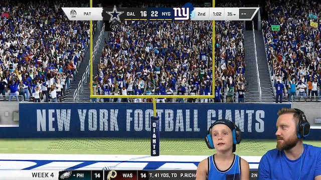 A Giant Disaster (Week 4, Madden Seas...