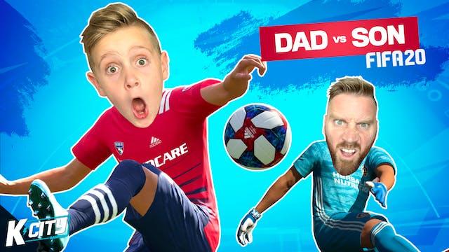 Dad vs Son in FIFA 20!