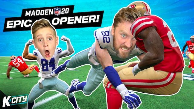 Madden NFL 20 Season 2: EPIC OPENER!