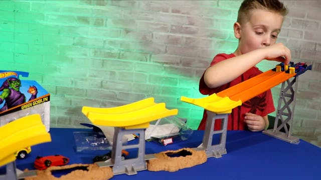 Hot Wheels Stunt Jump Tournament #1