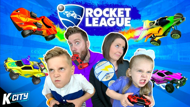 Rocket League Family Battle!