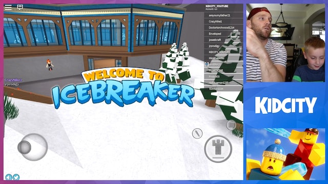 ROBLOX: IceBreaker Game + ROBLOX MiniFigures Unboxing!