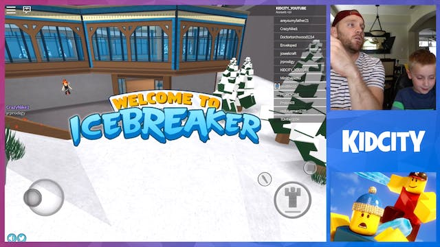 ROBLOX: IceBreaker Game + ROBLOX Mini...