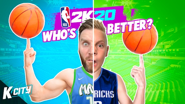 Who's Better at NBA 2k20!?