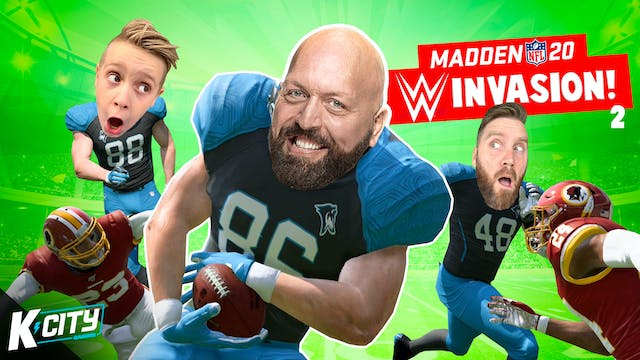Madden NF 20: WWE Invasion Part 2!