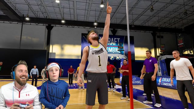 NBA 2k20 Career Story 3: Draft Combine!