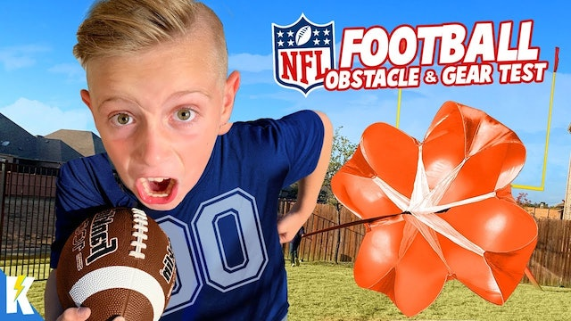 Ultimate NFL Kids Obstacle Course!