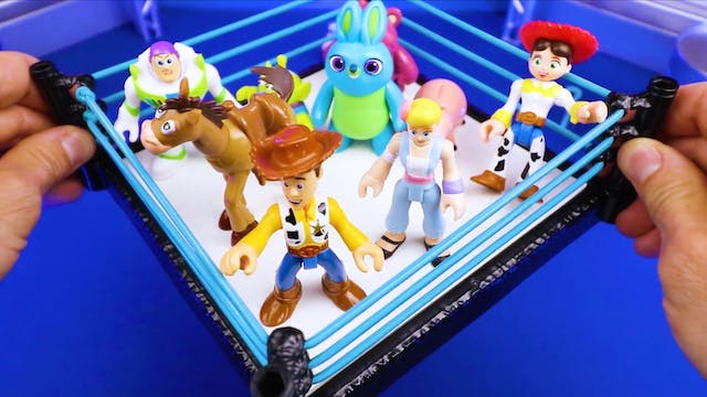Match #2: Toy Story 4 Shake Rumble!