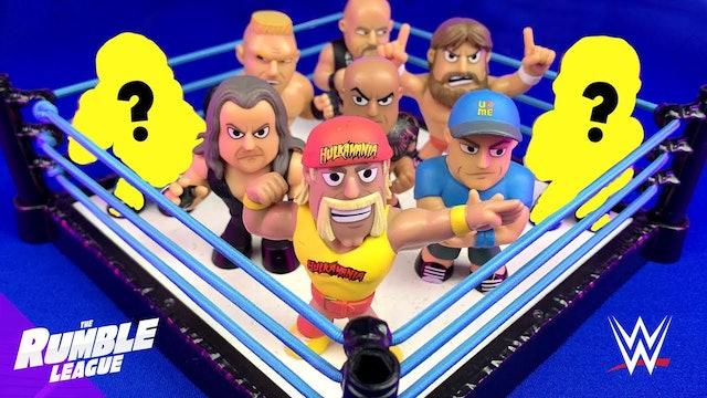 Match #1: Wrestling Toys Superstars Return Shake Rumble