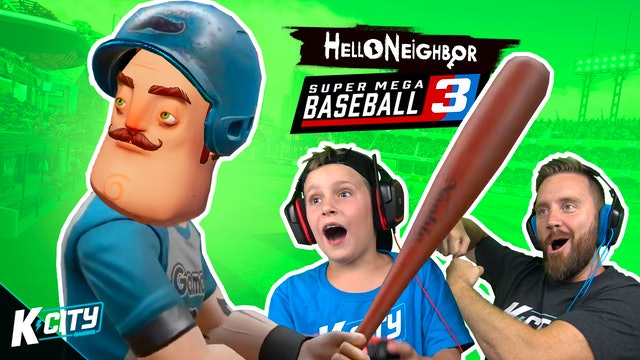 Hello Neighbor in Super Mega Baseball!!