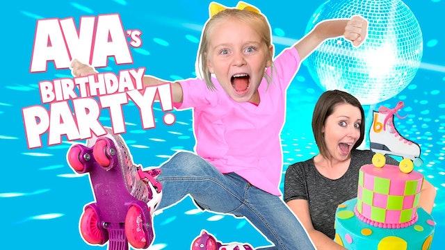 Ava tuns 6! (Birthday Vlog)
