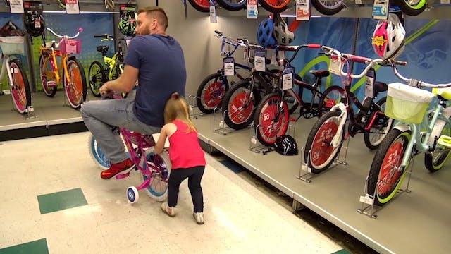 Crashing in Toys R Us!