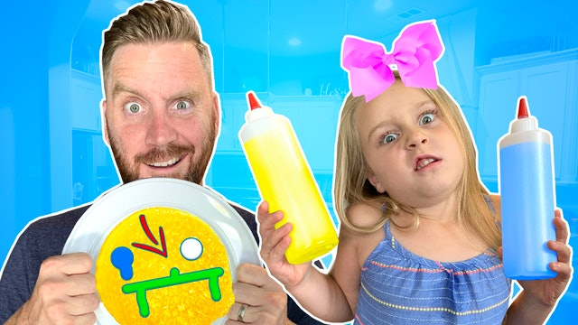 Pancake Pictionary Art Challenge!!!
