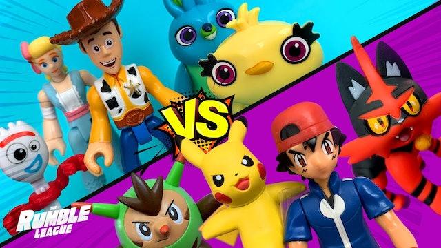 RumbleMania Tag Tournament Part 3: Toy Story vs Pokemon