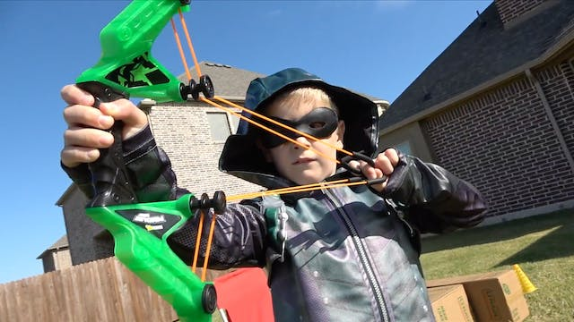 Green Arrow's Bow & Arrow Gear Test