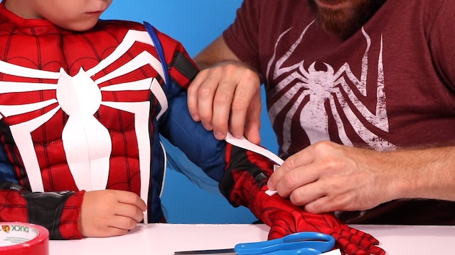 Spider-Man PS4 DIY Costume!