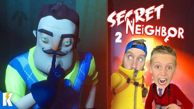 Secret Neighbor Battle Part 2!
