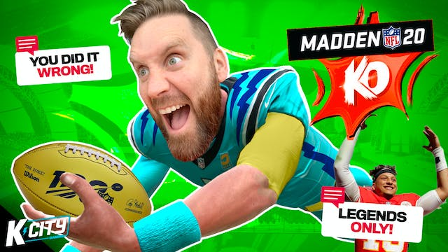 Superstar KO 2 in Madden NFL 20!