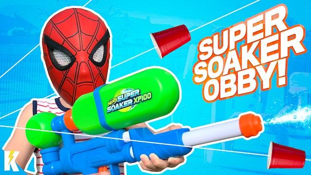 Super Hero Super Soaker Obby!