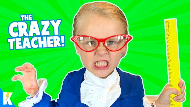 Ava is the CRAZY TEACHER! (Hide and Seek)