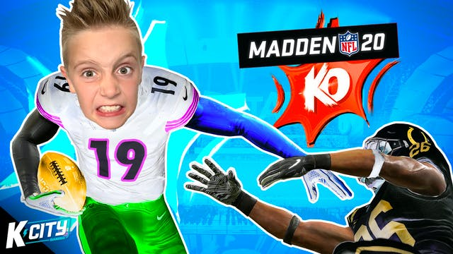 KO Superstar Mode in Madden NFL 20!