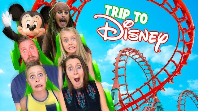 Disneyland Family Trip & Park Scavenger Hunt!