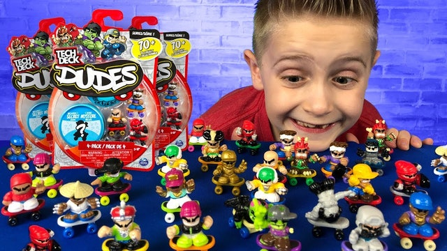 Tech Deck Dudes Unboxing!
