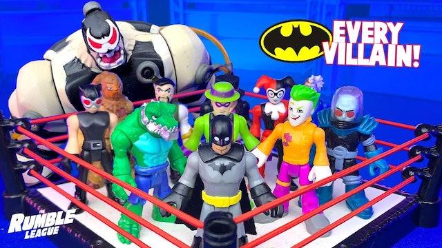 Match #9: Every BATMAN Villain!