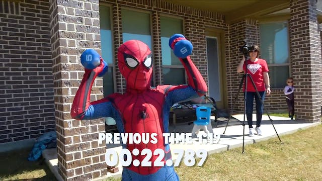 Spider-Man Fitness Challenge and Gear...