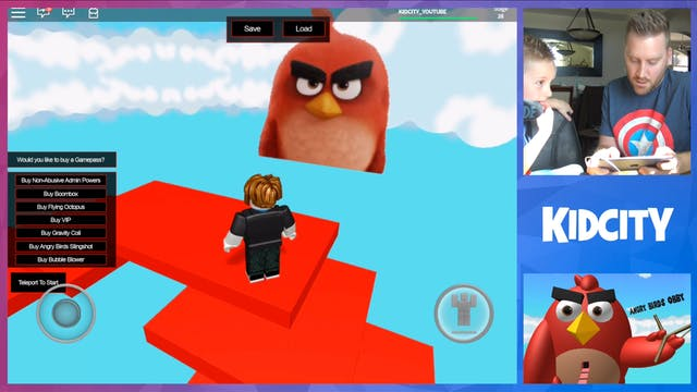 ROBLOX: Angry Birds Obby!