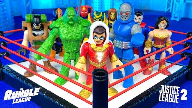 Match #7: DC's Justice League Part 2
