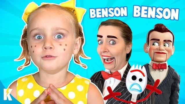 Gabby Gabby: Benson Comes to Life