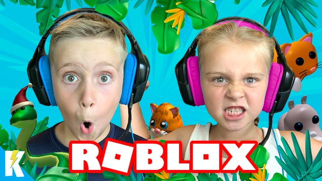 Roblox Takeover! Kids Unleashed on KI...