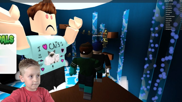 ROBLOX: Escape the YouTubers Part 1