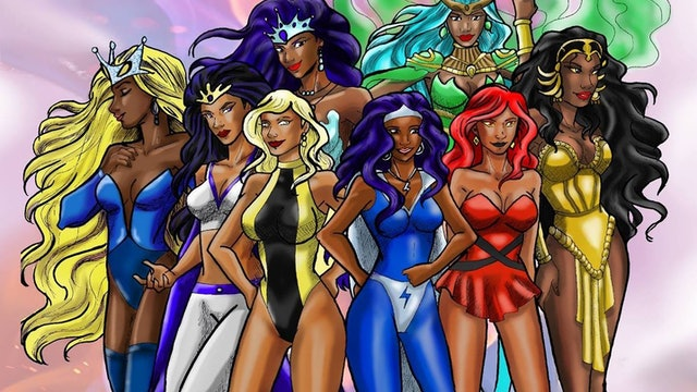 League Of Super Heroines