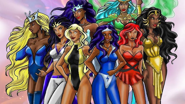 League Of Super Heroines
