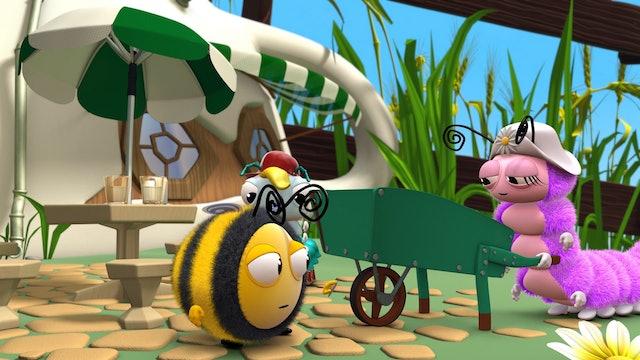 Bathtime for Midge; Buzzbee's Boast; Bee Scouts