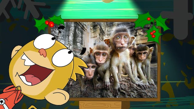 A Very Monkey Christmas; General Cluc...