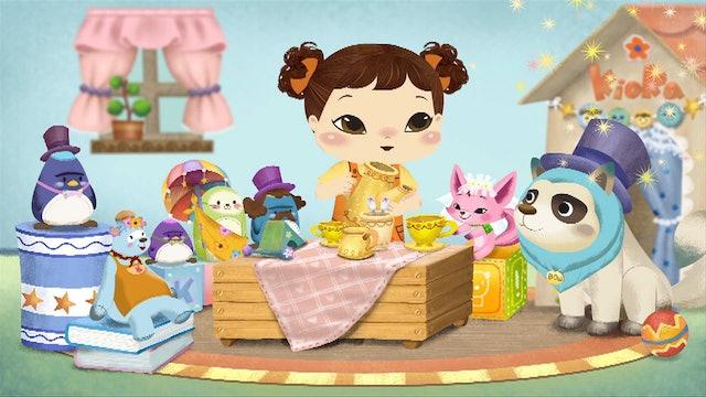 Bow's Birthday Parade; Cups; Banana Bread; Super Kioka; Egg