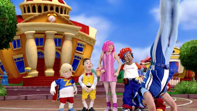 The LazyTown Circus