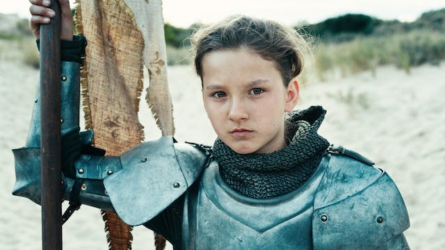 Joan of Arc presented by 14 pews