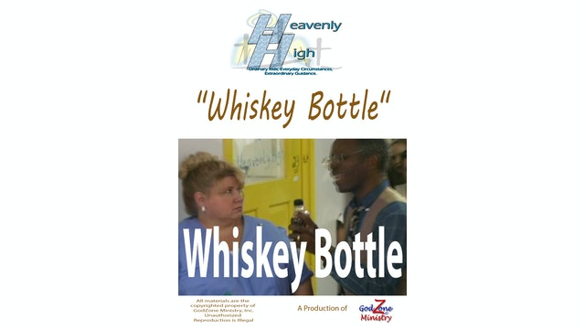 Whiskey Bottle HH