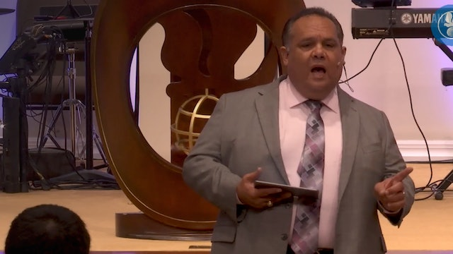 "Pastor Tommy- ""The complete work of the cross"""