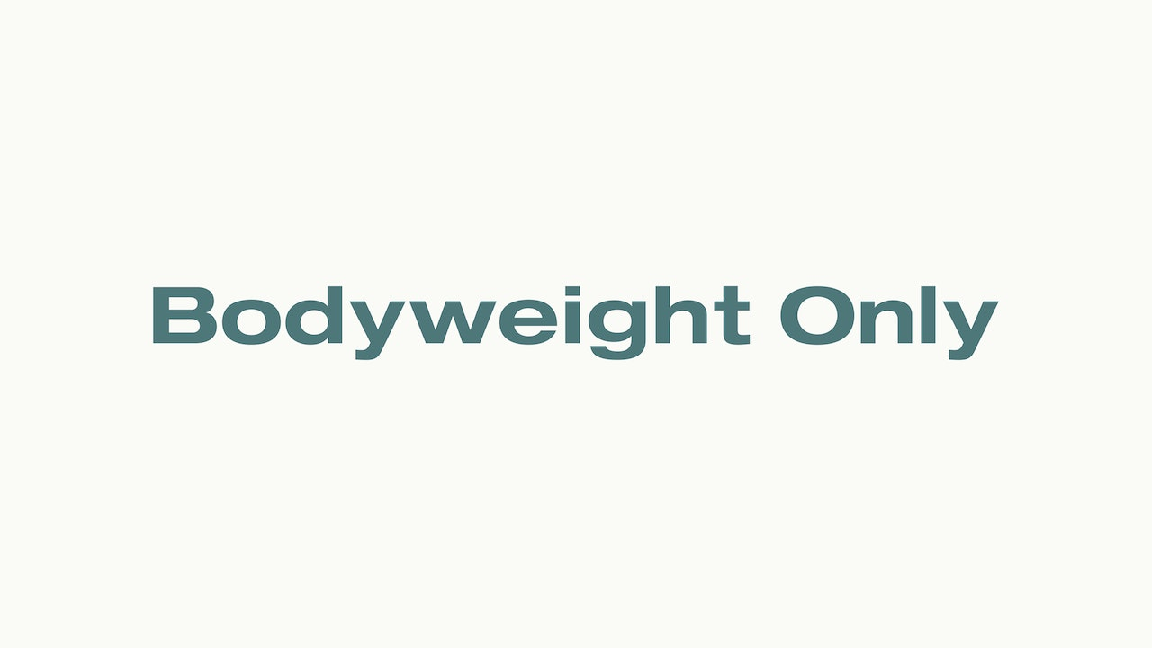 Stoked Workouts — Bodyweight Only 💪
